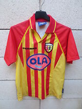 VINTAGE Maillot R.C LENS Umbro 1999 Michaël DEBEVE n°7 football 146 10 11 ans