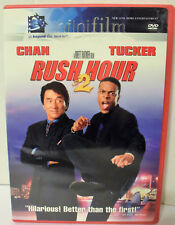 Rush Hour 2 (DVD, 2001) Jackie Chan Chris Tucker