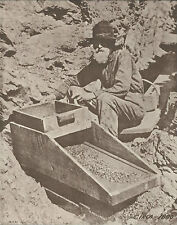 "WESTERN Prospector GOLD RUSH Miner's Cradle VINTAGE Photo Print 786 11"" x 14"""