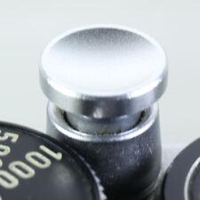 Pulsante di scatto rilascio MORBIDO ARGENTO concavo per Leica M R M9 FUJIFILM X-E1 M240