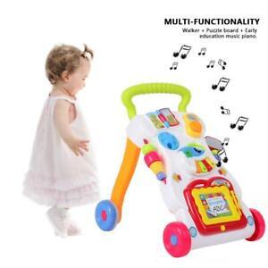 Kinder Laufwagen Lauflernhilfe Lauflernwagen Walker Baby Spielzeug Puppenwagen