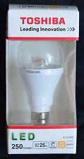"""***1x TOSHIBA LED-LEUCHTMITTEL """"LDGC0627CE4EUD"""" WARM-WEIß E14 6W = 25W NEU***"""
