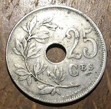 PIECE DE 25 CENTIMES BELGE 1922 (159)