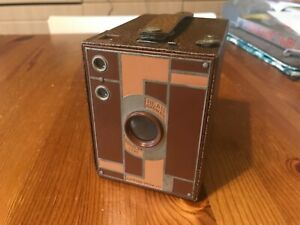 Kodak No. 2 Beau Brownie Brown with case