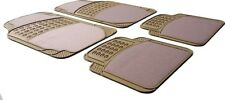 Beige/Cream Half Rubber Carpet Car Floor Mat Toyota Avensis, Corolla Auris Yaris