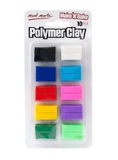 Make n Bake Polymer Clay 10 pce Mont Marte Assorted Colours