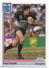 1992 NSW Rugby League REGINA Base Card (42) Paul SMITH Penrith Panthers