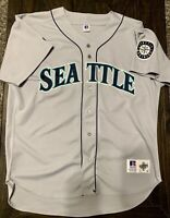 Vintage Russell Athletic Diamond Collection Seattle Mariners Jersey Size 52