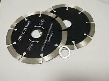 4 Segmented Diamond Saw Blade 100 Concrete Bricks Stone Granite Cutting Cutter
