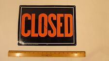 Open/Closed Big Visible Sign With 3D Graphics 14 Wide x 10 High Double Sided