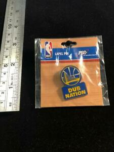 """Golden State Warriors """"Dub Nation"""" Pin - Pin-Back - NEW Factory Packaged - Curry"""