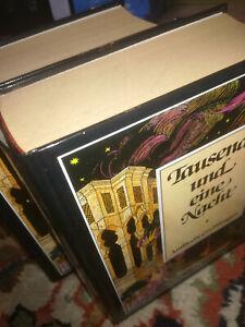 Tausend und eine Nacht, Arabische Erzählungen, vier Teile in zwei Bänden