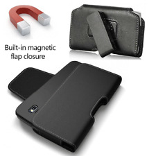 Leather Pouch Holster Swivel Belt Clip Fit iPhone SE 5S 5C with LifeProof Case