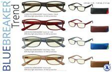BLUEBREAKER Trend Lesebrille Anti-Blaulicht-Brille für entspannte Augen