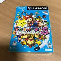 Mario Party 5 Nintendo GameCube 2003 Game software Rare Japan F/S W/Tracking#