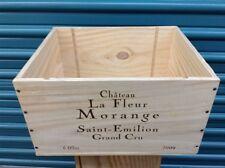 Wine Box Case Crate 6/750ml French Chateau La Fleur Morange Bordeaux