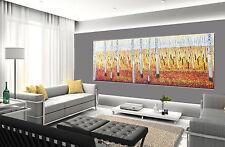 150cm x50cm Bush Scrub Landscape Tree Painting Print canvas Australia