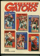 University Of Florida Football Guide 1988 Emmitt Smith Tony Jones   MBX42