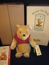 STEIFF Winnie The Pooh Bear 1999 #651489 ~ NEW in BOX