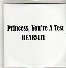(CU144) Princess, You're A Test - Bearsuit - 2011 DJ CD
