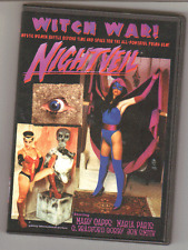 NIGHTVEIL: WITCH WAR MARY CAPPS, MARIA PARIS FEMFORCE MOVIE AC COMICS DVD