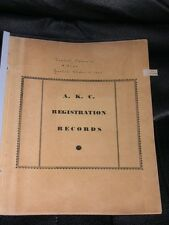 More details for very rare toy poodle iradell kennel record dog book vanderbilt 1953-1971