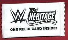 2018 Topps Heritage WWE #/ed Kiss/Mat/Shirt HOT PACK Alexa Bliss/Asuka/Auto?