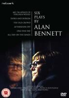 SIX PLAYS BY ALAN BENNETT. 3 discs. One Fine Day, Afternoon Off etc. New DVD