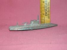 Vintage Tootsietoy Submarine Toy - Good Shape - Original Cond. - Vhtf