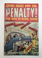 Crime Must Pay The Penalty! Comic Book No. 14 06/1950, 100% Complete Good
