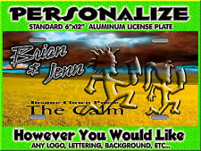 Juggalo Insane Clown Posse The Calm PERSONALIZED FREE Monogrammed License Plate