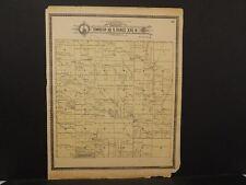 Nebraska Dawson County Map Lexington Grant Township c.1904  J10#37