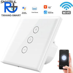Smart Wifi Switch Dimmer LED Light Switch Work with Alexa Echo Google Home A2TS