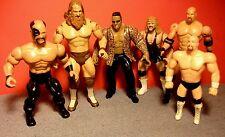 Vintage WWE WWF Wrestling 6 Figures LOT 1985-2003