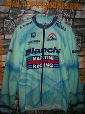 Vintage Cycling Jersey Maglia Ciclismo Bici Bianchi Martini racing '80s