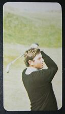 GOLF   Peter Oosterhuis    Great Britain   Photo Action Card  VGC