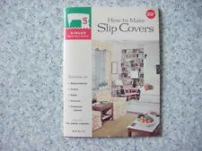 """New listing Vintage Singer Sewing Book """"How To Make Slip Covers"""" Book # 113 Singer Sewing Li"""