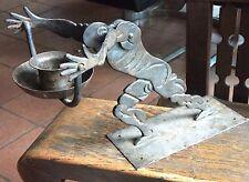 Art Deco Germany iron man candle holder