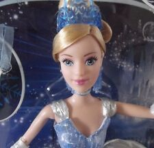 2012 Disney Holiday Princess Cinderella Barbie Doll Slipper Ornament & Tiara