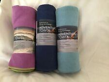 AQUIS ADVENTURE TOWEL SET OF 3 XL NWT PERFORMANCE DRYING