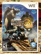 Nintendo Wii Game Monster Hunter Tri 3 (Super Low Price!)