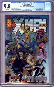 X-Men: Alpha #1 CGC 9.8 NM/MT Signed Joe Madureira 404/1500 Dynamic Forces COA