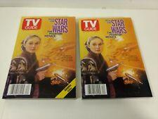 TV Guide May 15-21, 1999 Star Wars Padme Amidala Collectible Cover Set hd3032