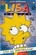 Lisa en el país las palabras Simpsons Comics lim. feria-Special Variant en exclusiva-edición 1