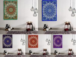 Urban Outfitters Wall Hanging Star Mandala Twin Tapestry Indian Hippie Throw Art