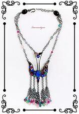 Philippe Ferrandis Stunning Vintage Art Glass Necklace OOAK