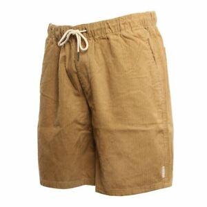 Quiksilver Men's Wax Out  British Khaki Cord Shorts Size:  S