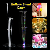 Balloon Stick Stand LED Base Table Support Holder Stick Birthday Wedding Party