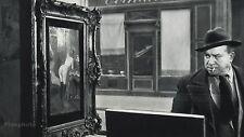 1955 Vintage HUMOR Man NUDE PAINTING Paris Photo Art 8x10 ROBERT DOISNEAU