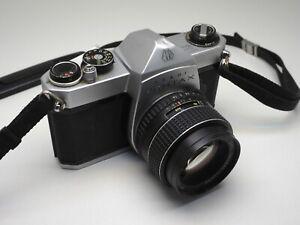 Pentax SP 1000 35mm SLR w/ SMC 50mm f/1.4  Prime Lens